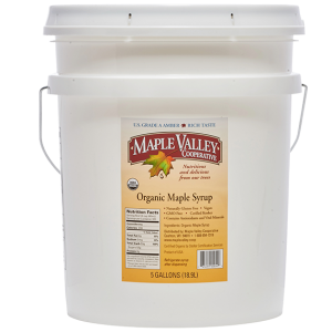 5_gallons_grade_A_amber_maple_syrup_maple_valley_coop