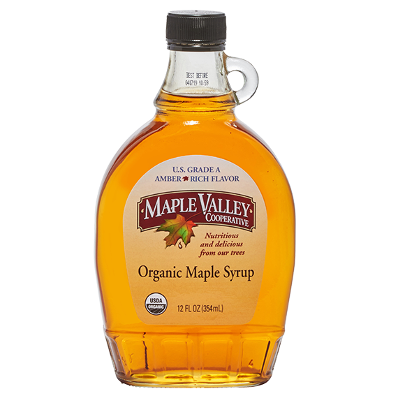 Rich maple syrup