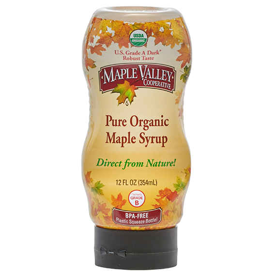 Maple valley squeeze syrup