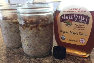 Maple Overnight Oats