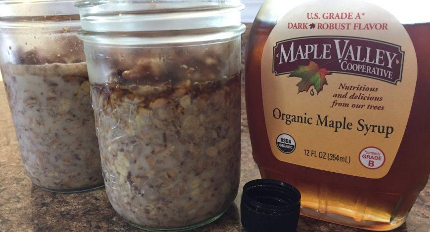 Maple Overnight Oats