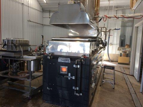 Shiny new boiler