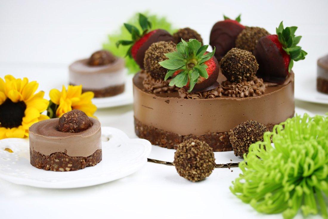 Chocolate Strawberry cakes