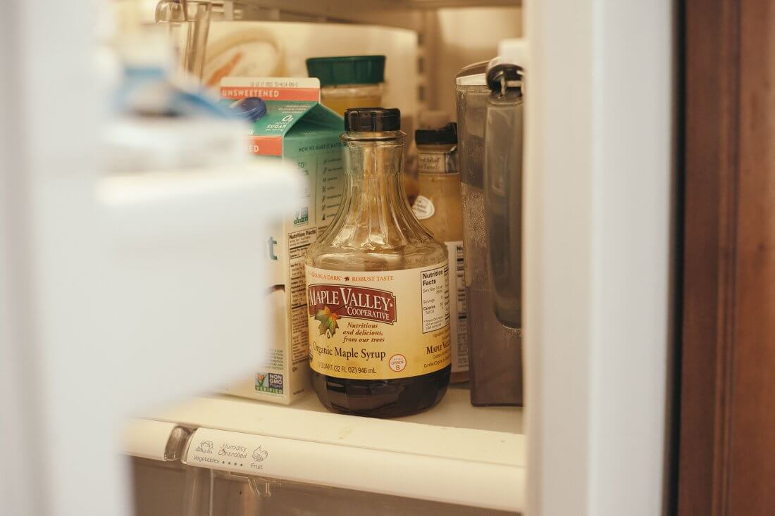 Syrup in Fridge