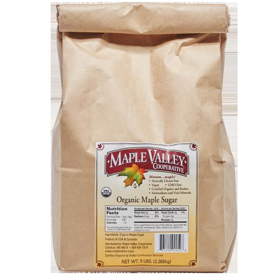 Maple valley organic sugar