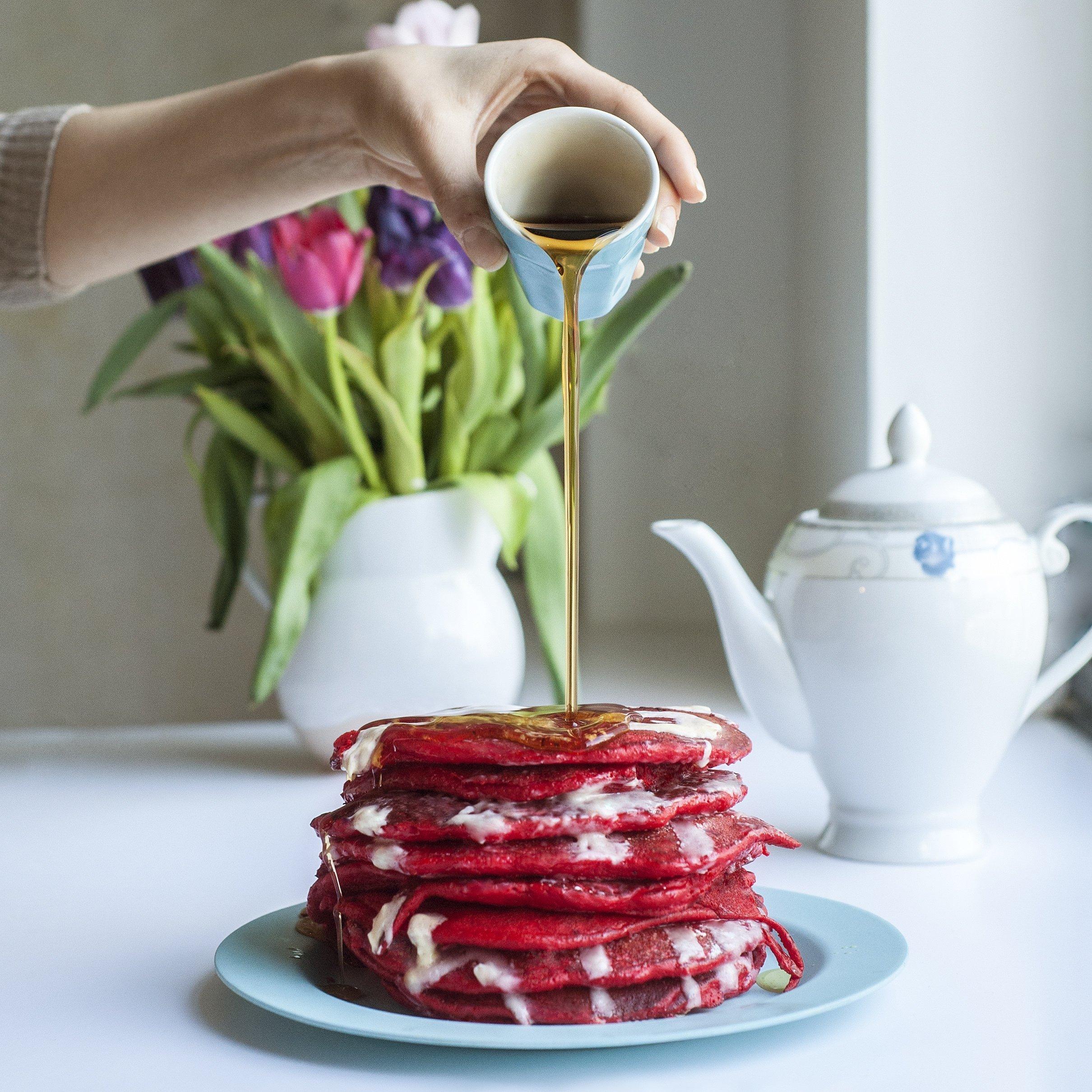 Autism Hope Alliance's Red Velvet Pancakes