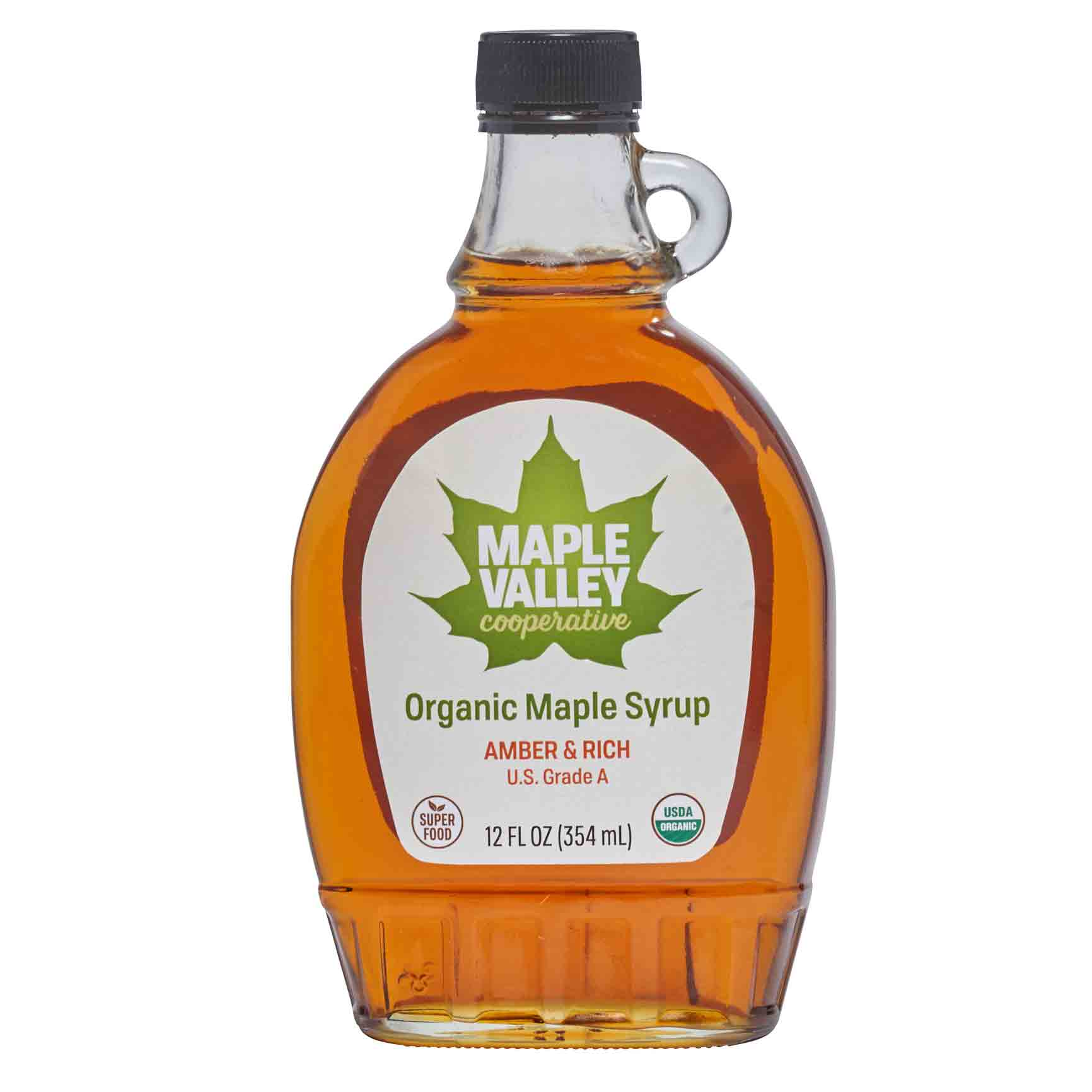 Five oz of Maple Valley Cooperative organic maple sugar