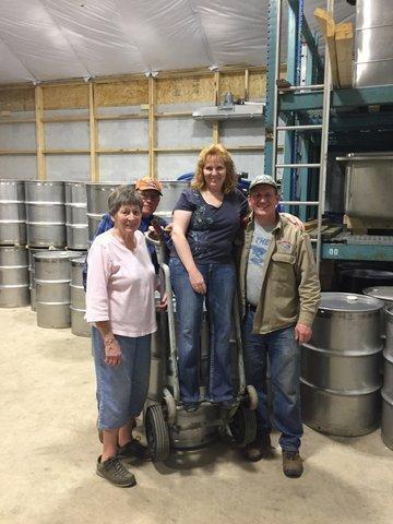 Shirley, Dave Sr., Mrs. Lemke, & Beaner