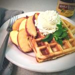 Maple Spice Waffles