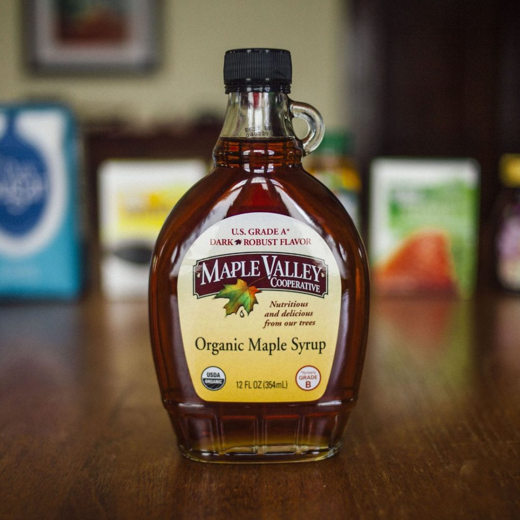 Maple syrup vs. others