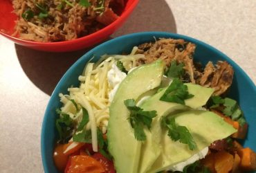 Slow-Cooked Pulled Pork Burrito Bowl