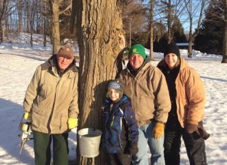 Maple syrup farmers