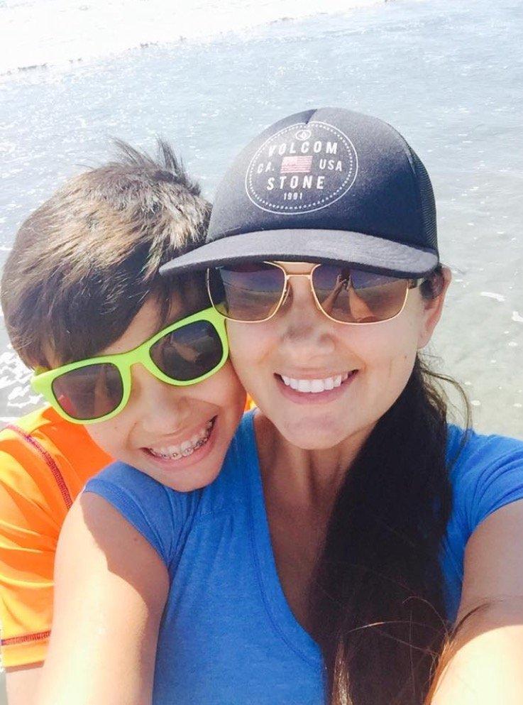 AHA President, Kristin Selby-Gonzalez and her son Jaxson