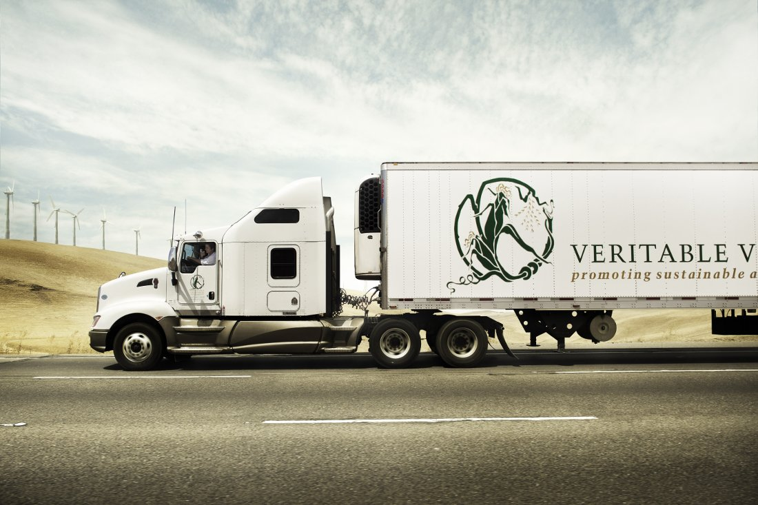 Veritable Vegetable truck