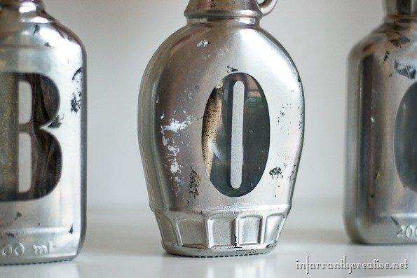 Mirrored Boo Jars