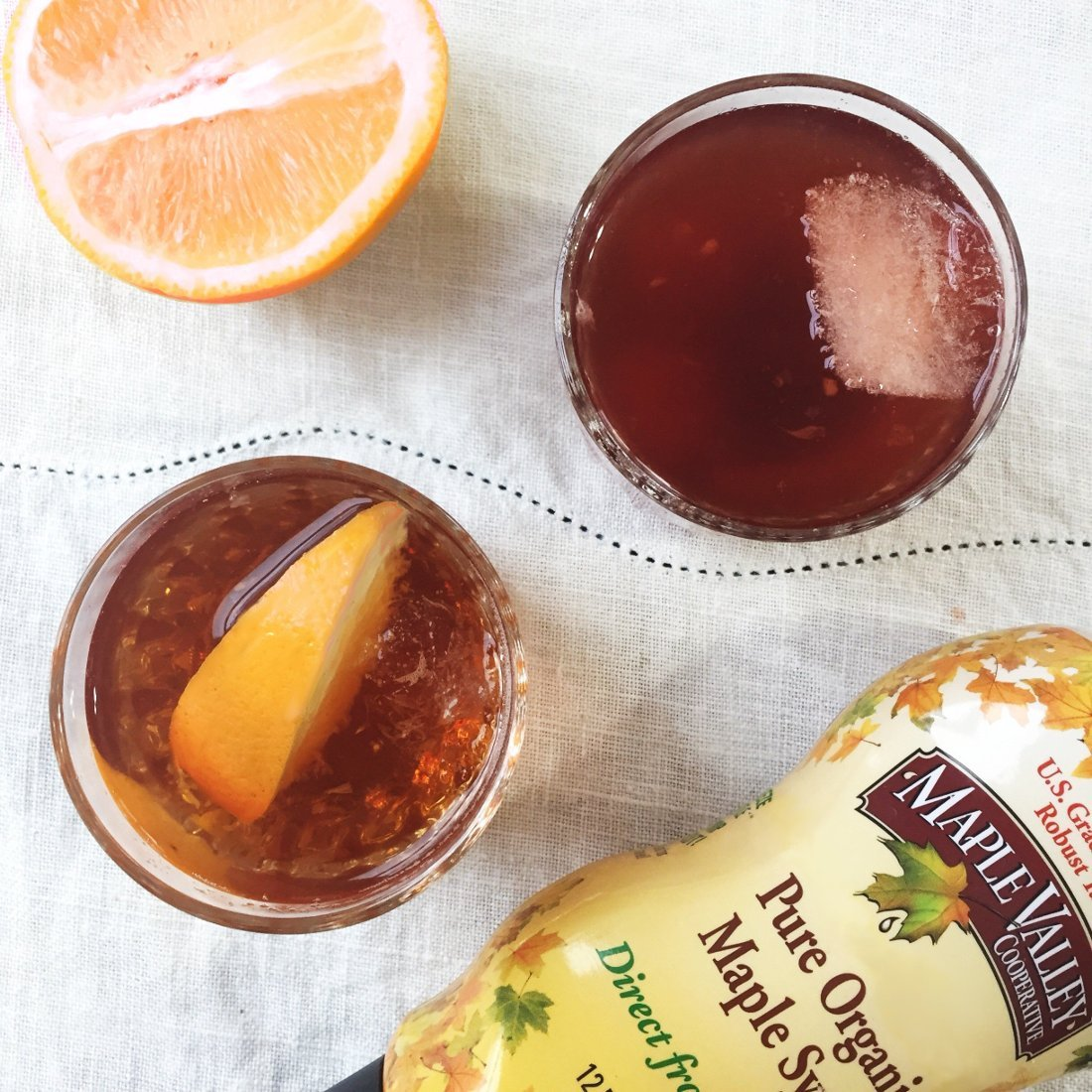 Recipe of the Week: Maple Old Fashioned Two Ways