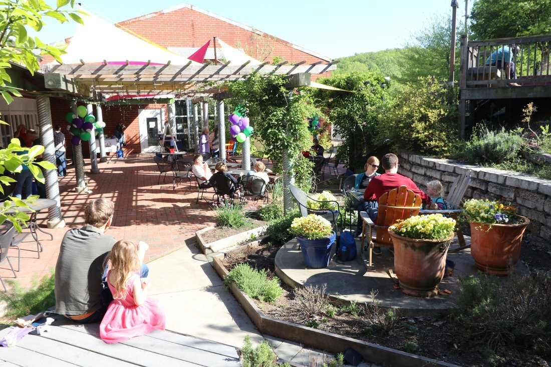 Foodhouse Patio during Coop Fair