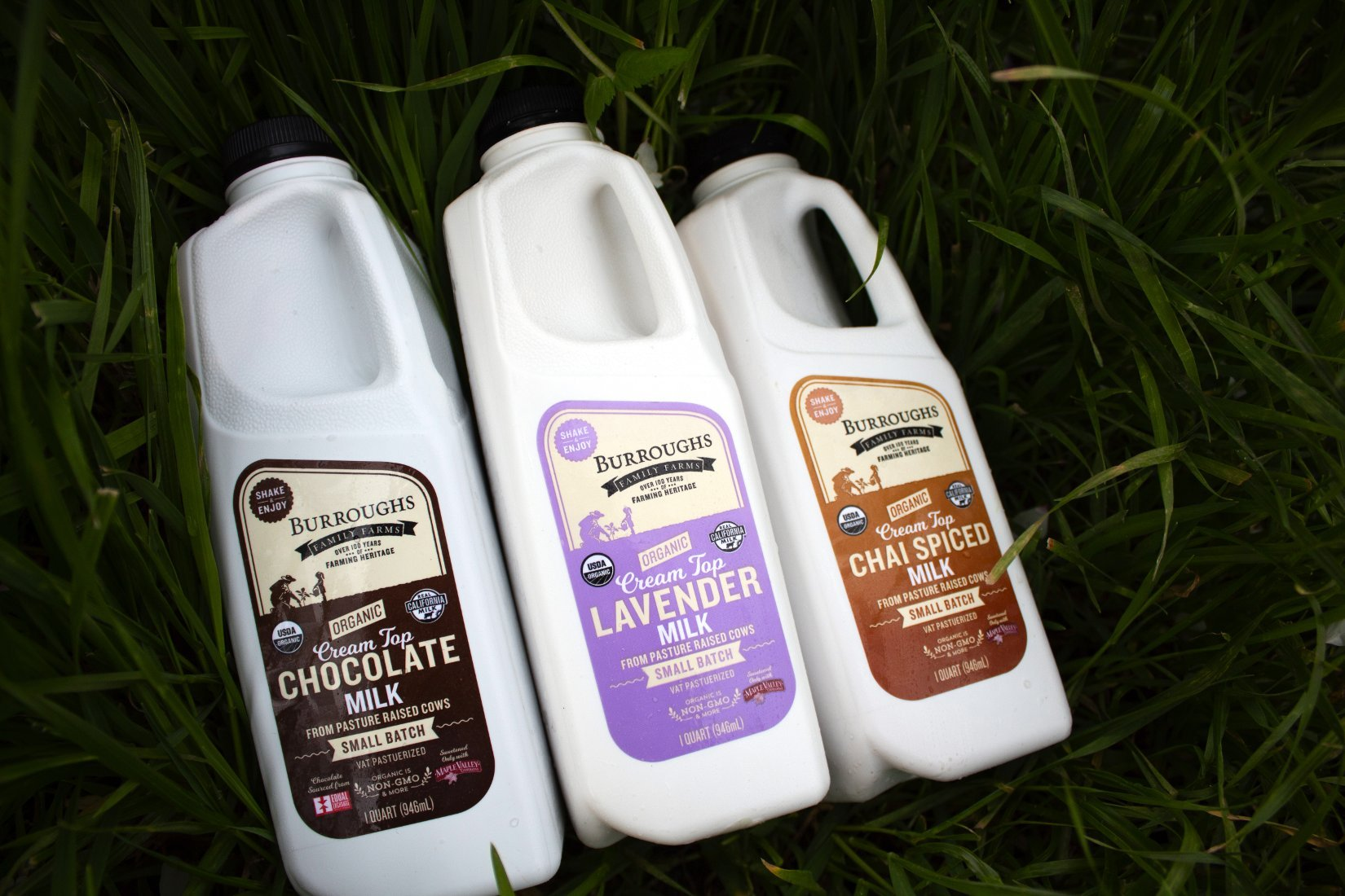 Burroughs Family Farms Sweetened Milks