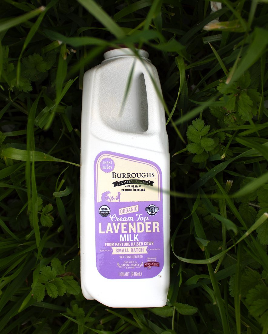 Burroughs Family Farms Lavender Milk
