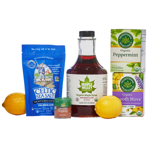 The master cleanse five day cayenne, maple syrup, salt and lemon cleanse kit product image