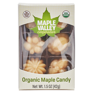 Maple Valley Cooperative organic maple candy product image