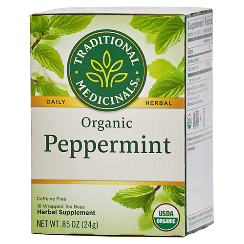 Traditional Medicinals organic peppermint tea - Maple Valley Master Cleanse kits