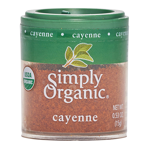 Small Simply Organic Cayenne Pepper product image
