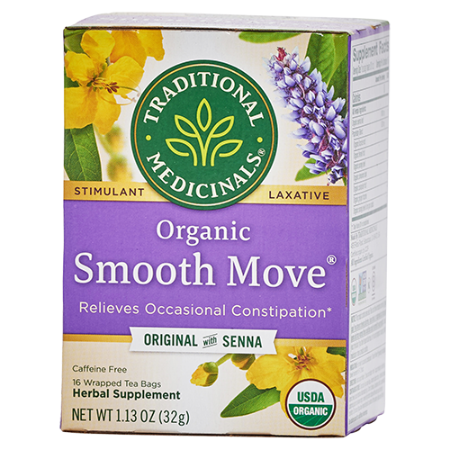 Traditional Medicinals Organic Smooth Move Tea product image - Maple Valley Coop Master Cleanse kits