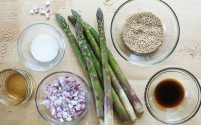 Maple Glazed Asparagus Recipe
