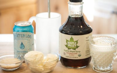 Maple Valley Maple Ice Cream Soda Recipe