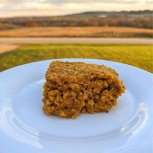 start your day the maple way pumpkin bar recipe