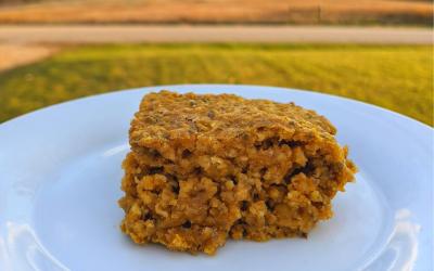 Maple Pumpkin Oatmeal Bars Recipe